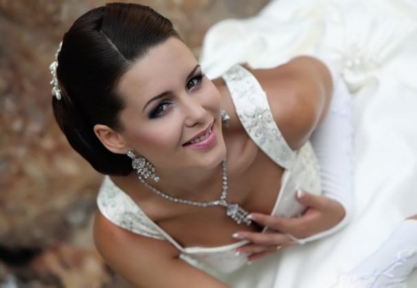 свадебные прически 2015 видео русские