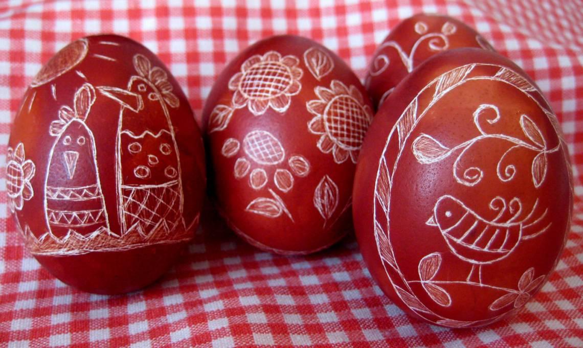 Яйца пасхальные своими руками
